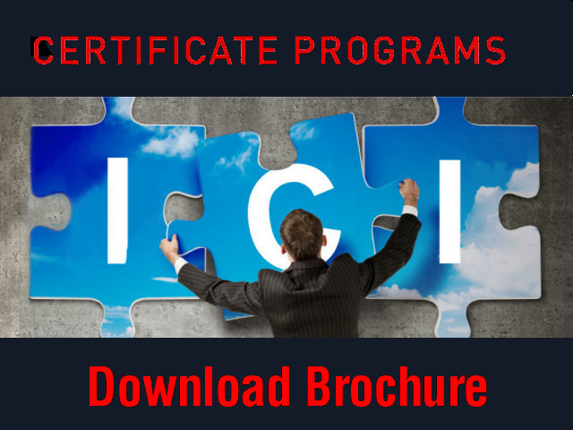 ICI Certificates Brochure